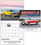 Muscle Thunder Spiral Wall Calendars